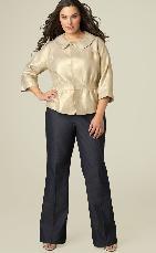 Стильная одежда для больших женщин
