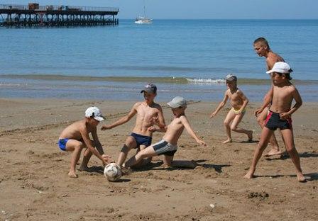 Черноморское побережье для детей