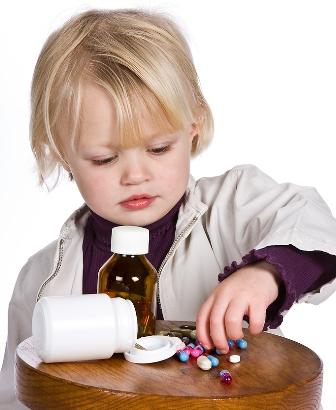 Если ребенок отравился лекарствами