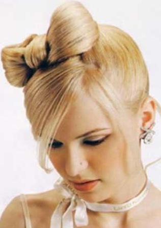 Прическа невесты для коротких волос