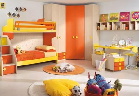 Необычный дизайн комнаты ребенка