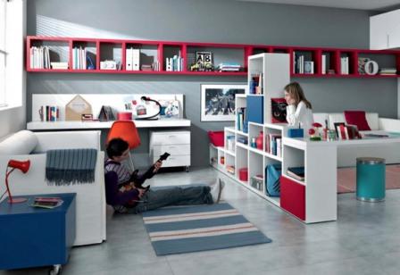 Нестандартный дизайн комнаты ребенка