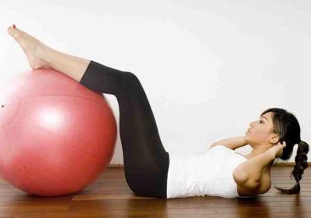 Подготовим мышцы пресса к предстоящей беременности!