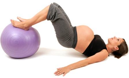 Занятия фитнесом и беременность