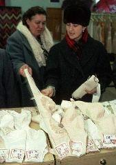 Продажа нижнего белья в СССР