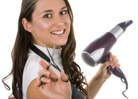 Модная профессия для девушки. Парикмахер.