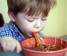 Ужин ребенка