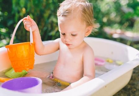 Иммунитет ребенка в жаркое время