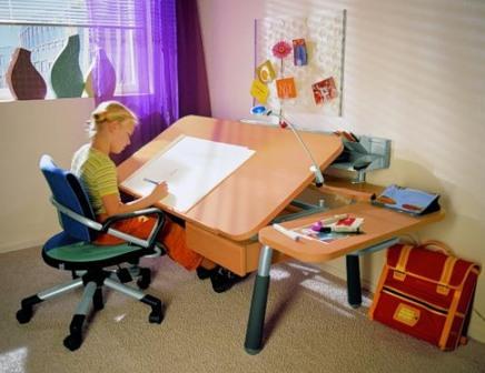 Как организовать место для учебы дома