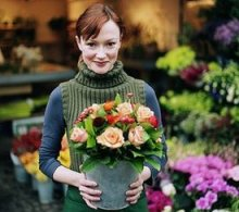 Модная профессия для девушки. Флорист.