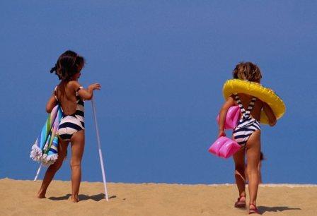 На пляж с ребенком. Что брать с собой.