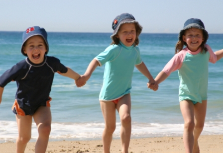 Собираемся с ребенком на пляж