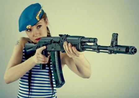 Молодая девушка в современном мире