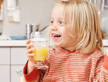 Прикорм. Введение сока в рацион малыша.