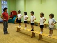 Занятия физкультурой в школе