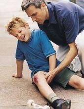 Почему бывают переломы у детей