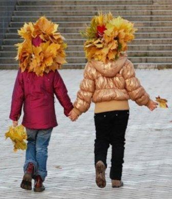 Что необходимо ребенку для осенней прогулки по городу
