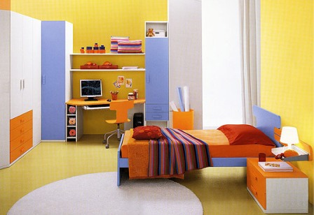 Современные варианты детской мебели