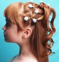 Ухаживаем за длинными детскими волосами