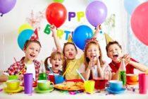 День рождения ребенка — в детском клубе