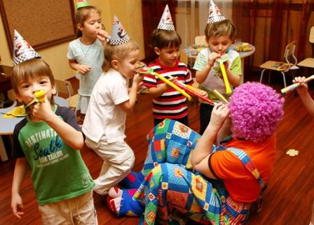 День рождения ребенка - в детском клубе