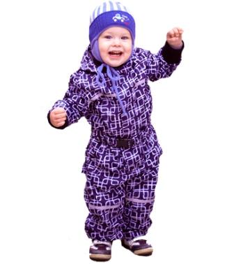 Как выбрать теплый комбинезон для ребенка