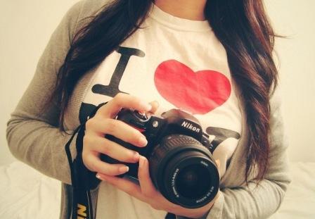 Модная профессия для девушки. Фотограф.