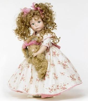Модные тренды. Фарфоровые куклы.