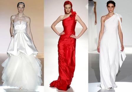Основные виды свадебных платьев