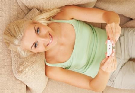 Беременность - радость молодой женщины