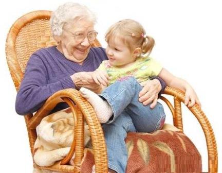 Чему девочки учатся у бабушек?