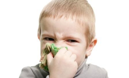 Ребенок страдает от аллергии