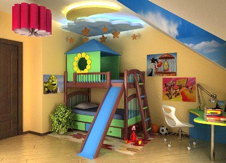 Как обустроить маленькую комнату ребенка?