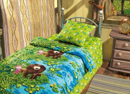 Как сделать постель интересной для ребенка?