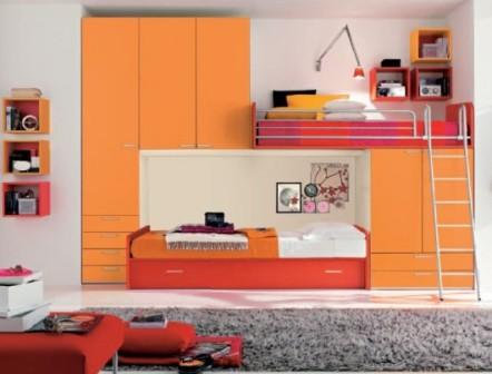 Как сэкономить место в комнате ребенка
