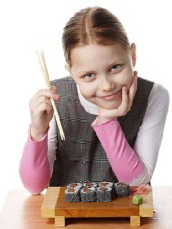 Можно ли ребенку есть роллы