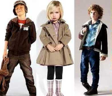 Осенняя мода для детишек