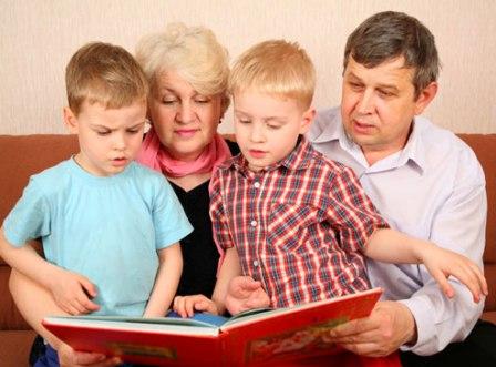 Участие бабушек и дедушек в воспитании