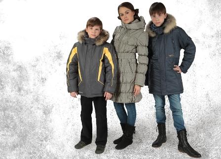 Подростковая одежда на зиму