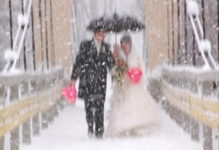 Как правильно организовать свадьбу зимой?