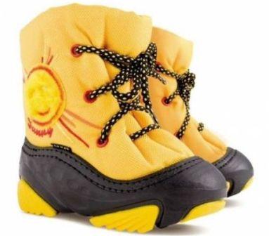 Правильная детская обувь на зиму