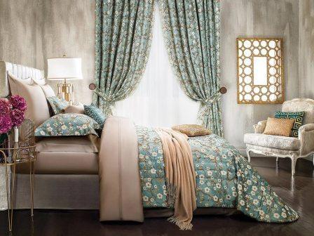 Текстильные изделия преобразят спальню
