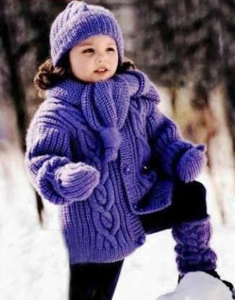 Зимние вещи которые нравятся детям