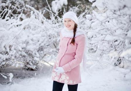 Беременность в зимнее время года