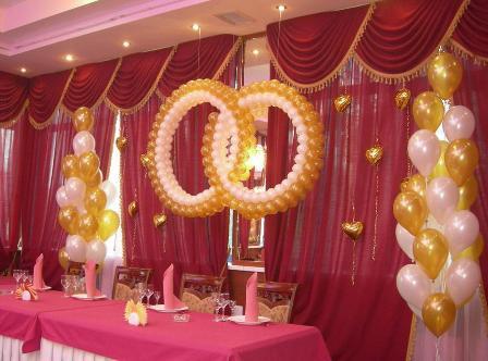 Чем украшают ресторан на свадьбу?