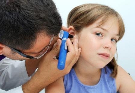 Болезни ушей у детей