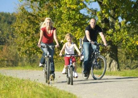 Велопрогулки для всей семьи