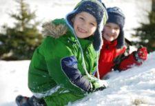 Верхняя зимняя одежда для ребенка