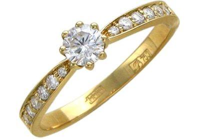 Бриллиантовое кольцо в подарок
