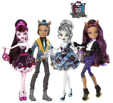 Игрушки для девочек. Monster High.